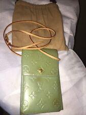 Louis Vuitton Mini Vernis Shoulder Bag green