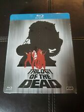 Trilogy Of The Dead Bluray NIGHT DAWN & DAY Steelbook Metalpak NEW RARE OOP HTF