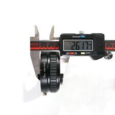 Adjustable Macro to Infinity Lens Adapter Suit For Canon EF EOSto Fujifilm X