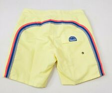 "Sundek Classic 17"" Low Rise Board Shorts Lemonade Size 30 Mens New"