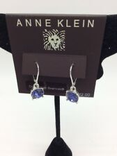 $22 Anne Klein Swarovski drop crystal earrings Ak 100C