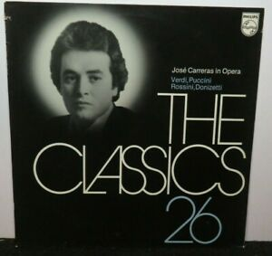JOSE CARRERAS IN OPERA VERDI PUCCINI (NM) 6598822 LP VINYL RECORD