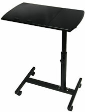 LAPTOP COMPUTER FOLDING TABLE DESK STAND BEDSIDE STUDY ADJUSTABLE TRAY