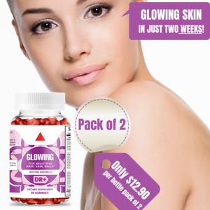 Biotin Gummies Hair Skin Nails 60 Vegetarian Biotin 5000mcg, Hair Biotin Vitamin