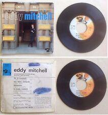 Eddy Mitchell Disque Super 45T vinyl 4 titres De la musique vintage