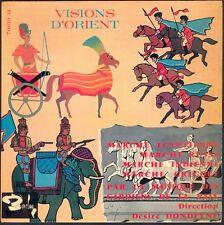 VISIONS D'ORIENT Musique des GARDIENS DE LA PAIX Marches INDE GRECE EGYPTE 45T
