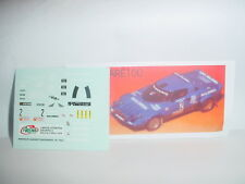 Decal Lancia Stratos Gr4 Rally 2 Valli 1979 #2 Arena 1/43 Are100
