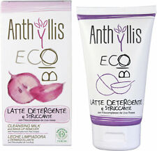 LATTE DETERGENTE E STRUCCANTE NATURALE ECO-BIO COSMESI ANTHYLLIS