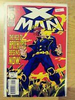X-MAN 1 F/VF MARVEL PA8-45