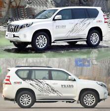 2 PCS Graphics Splashes Sticker Decal 4X4 OFF ROAD For Toyota Prado Land Cruiser