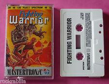 Sinclair ZX Spectrum - Mastertronic FIGHTING WARRIOR 1989 *NEW!