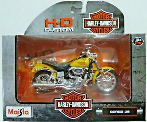 1997 FXS Low Rider HARLEY DAVIDSON MOTORCYCLE MAISTO SERIES 38 1/18