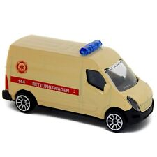 Renault Master Ambulance Rettungswagen Majorette S.O.S. Cars 239C 2018 Austria