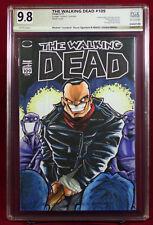 WALKING DEAD #109 PGX (not CGC) 9.8 NM/MT Original Sketch Cover by LOCODUCK!!!