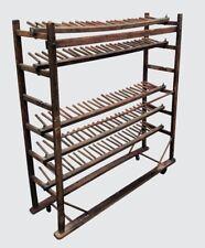 Antique Industrial Primitive Cobblers Oak Shoe Or Wine Rack