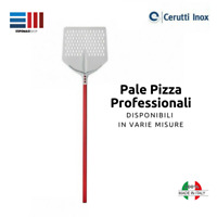 PALA PALE PIZZA PROFESSIONALE TULIP CERUTTI ALLUMINIO MADE IN ITALY FORATA E NO