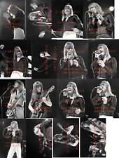 25 DIFFERENT 4X6 PHOTOS OF THE SWEET IN CONCERT JAN-31-1976