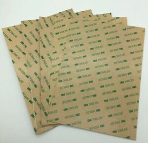 3M 300LSE Double Sided Adhesive sheet tape sheets x5 A3 A4 A5 UK SELLER