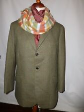 PORTER & HARDING THORN PROOF SCOTTISH     GREEN TWEED JACKET  - SIZE UK 40R