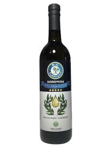 M.G. PAPPAS Koroneiki Extra Virgin Olive Oil Unfiltered Cold Pressed Greek EVOO