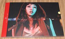 MINZY WORK 01 UNO 2NE1 1ST MINI ALBUM K-POP CD + POSTER IN TUBE CASE SEALED