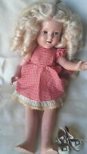 Vintage Composition Ideal Shirley Temple Doll 1930's
