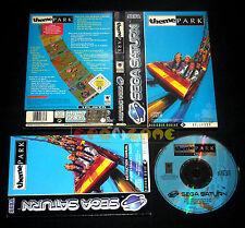 THEME PARK Sega Saturn Versione Europea PAL ••••• COMPLETO
