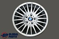 "BMW E90 E91 E92 Silver Wheel Alloy Rim 17"" Spider Spoke 160 ET:34 8J 6765813"