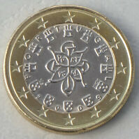 1 Euro Kursmünze Portugal 2009 unz