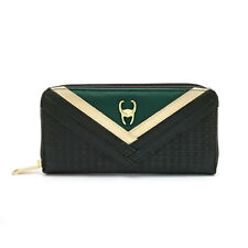 The Avengers Loki Wallets Cosplay PU Wallet Card Holder Coin Purse Money Bag