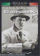 El Asesino X 1954 DVD NEW Carlos Lopez Moctezuma y Manolo Fabregas SEALED