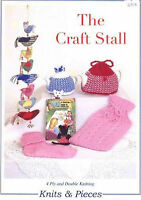Craft Stall Knitting Pattern - Tea Cosy / Hot Water Bottle Cover / Socks