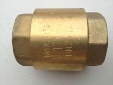 25mm Brass Check Valve Non Return Valve Water Tank Check Valve Spring Loaded