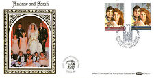 22 JULY 1986 ROYAL WEDDING BENHAM BLCS 15 FIRST DAY COVER WESTMINSTER ABBEY SHSd