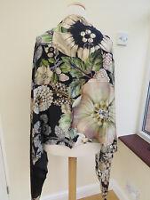 NEW!!100% Silk Ted Baker Gem Gardens Silk Long Scarf - STUNNING!