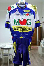 MG Boys Maglificio-Technogym CHRONO BODY SUIT vintage cycling NALINI M-L