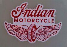 INDIAN MOTORCYCLE VINYL STICKER DECAL CHIEF SCOUT BIKER ariel bsa hog pope