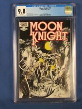 MARVEL COMICS CGC 9.8 MOON KNIGHT 21 7/82 WHITE PAGES