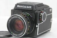[NEAR MINT+++ ]  Mamiya M645 Waist Level Finder + Sekor C 80mm F2.8 from Japan