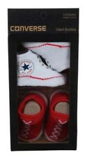 Converse All Star Baby chucks red white socks 0-6 Months Baby Gift Box