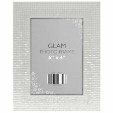 Glam Metallic Chic Standing & Hanging Portrait Picture Photo Frame 6 X 4 (s