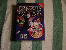 Dragon's Revenge (PC, 2003) Twin Pack - Journey to Stonehenge, Bonus program NEW