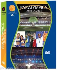 Athens 2004 Paralympics 4 DVDs Set Opening & Closing Ceremony