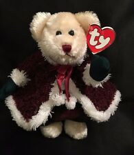"Ty Attic Treasures Mrs Santa Bear Plush 8"" Stuffed Animal Christmas NEW"