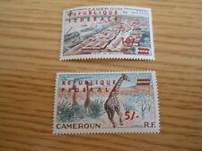 Cameroun 1961 5/- & 10/- high values MNH- catalogue £30 - Ref XM14