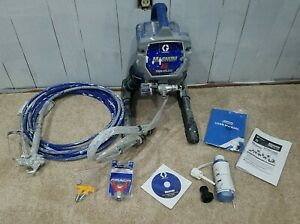 Graco Magnum X5 Airless Paint Sprayer, Blue New Rac Guard and 2 515 Tips