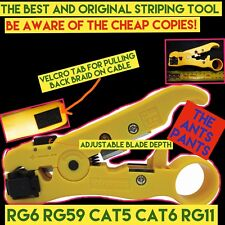 MATCHMASTER Stripping Tool For RG59, RG6, RG11 and CAT 5 08MM-ST05