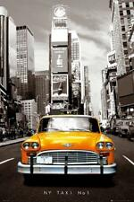 New York : Taxi nr. 1 - Maxi-Poster 61cm x 91.5cm New and sealed