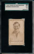 1934 Herminio Masantonio rare Argetine Issue SGC 20 = PSA 1.5 Pour la Noblesse