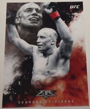 Georges St-Pierre UFC 2017 Topps Chrome Fired Up Insert Card #UF-GSI GSP 217 158